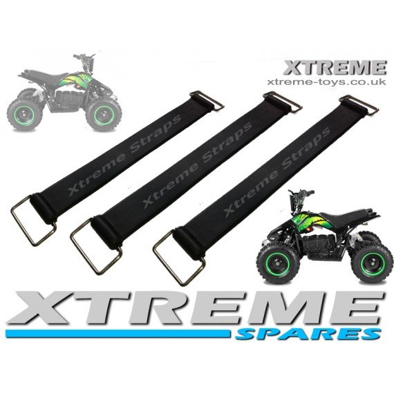 ELECTRIC QUAD/ BIKE/ SCOOTER RUBBER BATTERY STRAPS