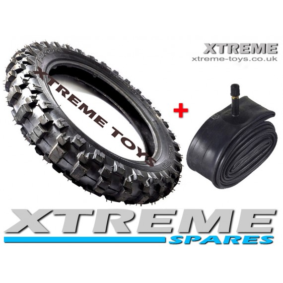 MINI DIRT BIKE TYRE + INNER TUBE /  2.50 - 10