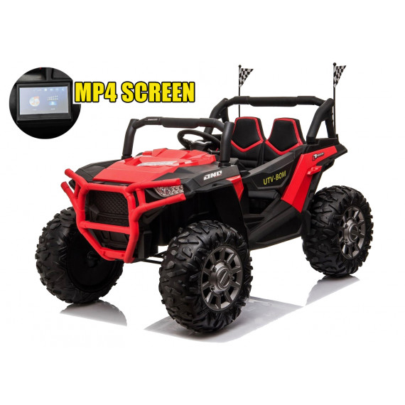 Xtreme BIG 24v Ride on Buggy Off Road UTV Jeep Red