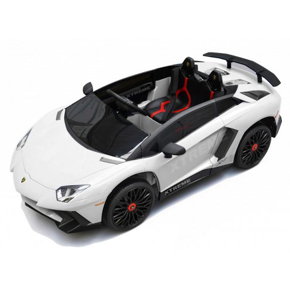 Xtreme 12v Official Licensed Lamborghini Aventador SV Ride on Car White
