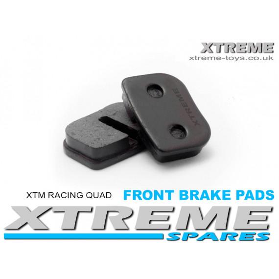 COMPLETE FRONT BRAKE PADS XTM RACING QUAD/ PRO-RIDER BIKE