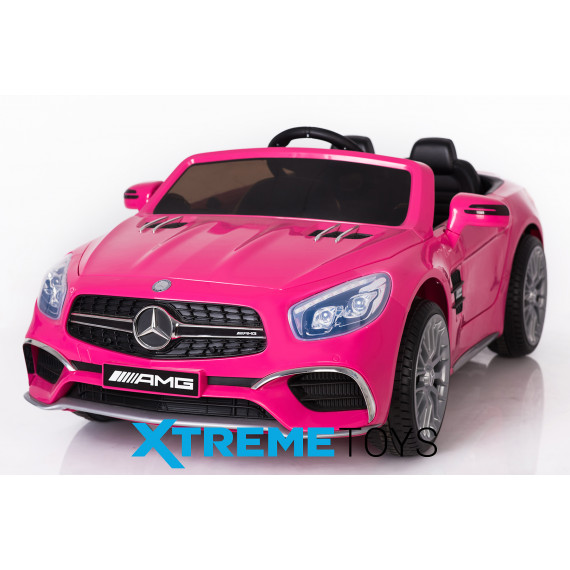 Xtreme 12v Licensed Mercedes-Benz SL65 AMG Coupe Ride on Car in Pink