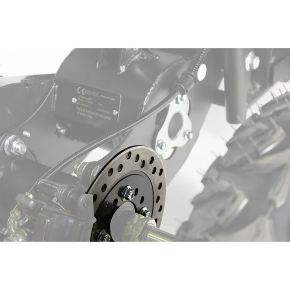 XTM RACING QUAD COMPLETE REAR BRAKE DISC