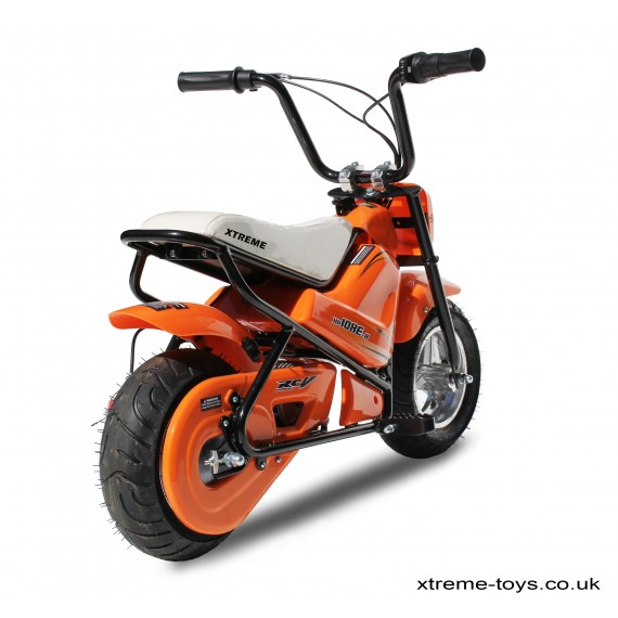 XTREME 250w FUNBIKE IN ORANGE
