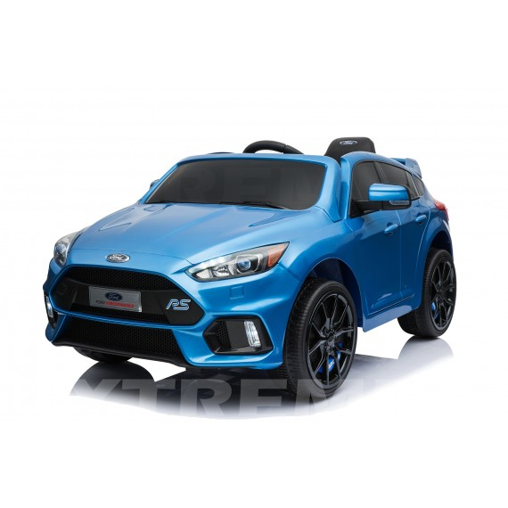 Xtreme 12v Official Licensed Ford Focus RS Ride on Car Metallic Blue