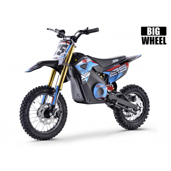 XTM MX-PRO 48V 1300W BIG WHEEL LITHIUM DIRT BIKE BLUE