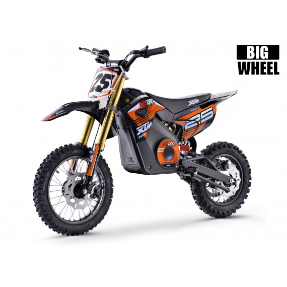 XTM MX-PRO 48V 1300W BIG WHEEL LITHIUM DIRT BIKE ORANGE