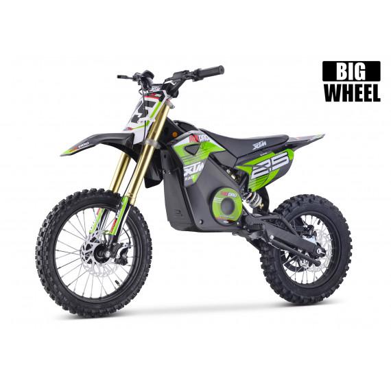 XTM MX-PRO 48V 1300W BIG WHEEL LITHIUM DIRT BIKE GREEN