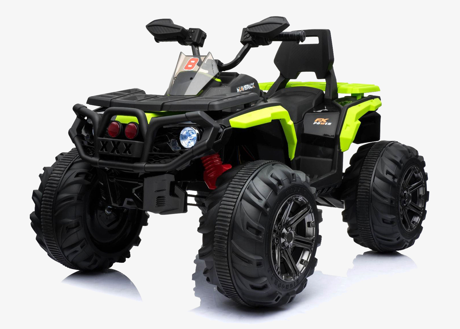 Xtreme 12V Children's Ride on Electric Quad ATV Green