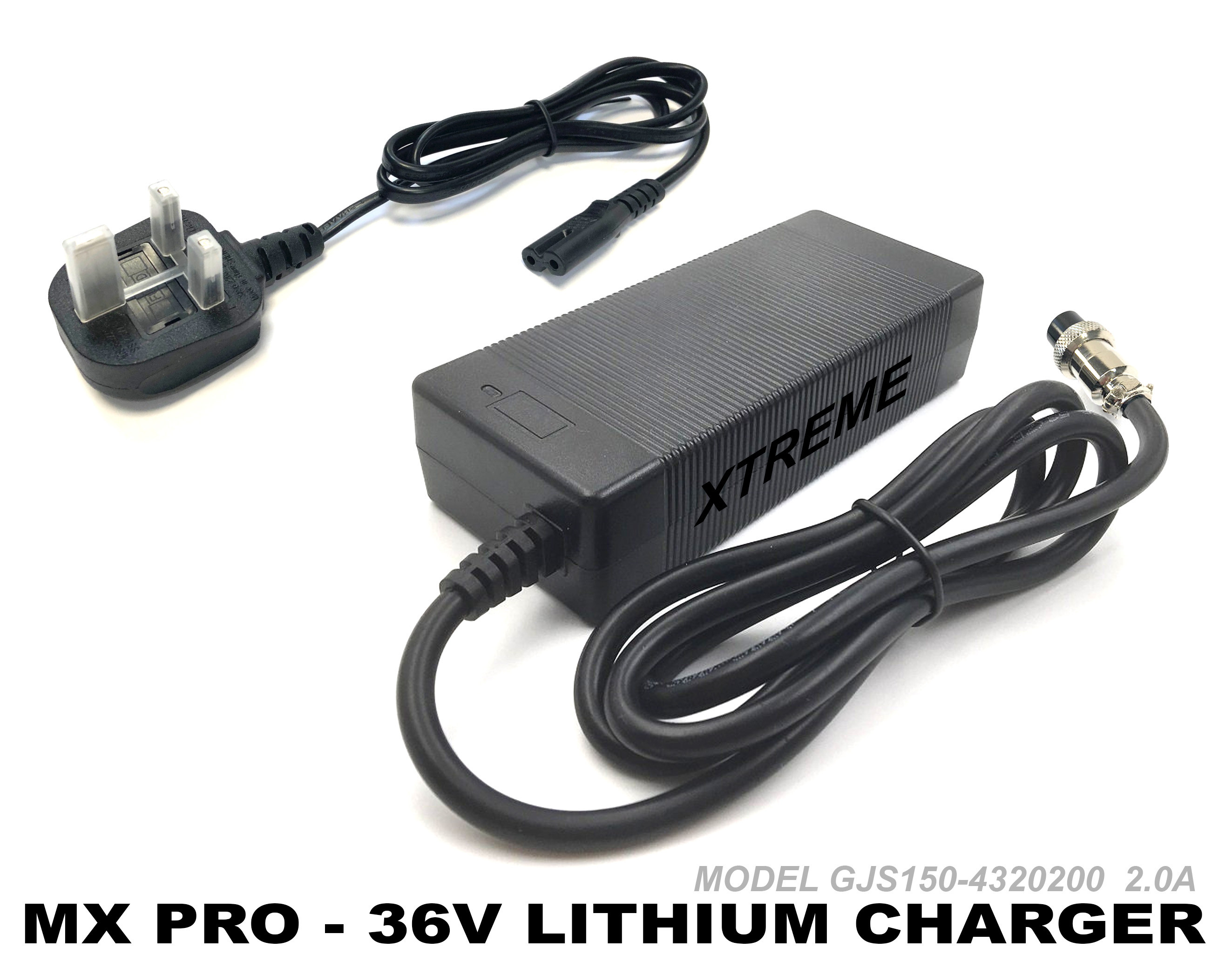 XTREME ELECTRIC XTM MX-PRO 36V 1100W LITHIUM BATTERY CHARGER
