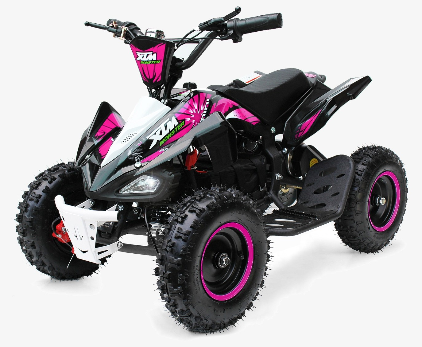 XTM MONSTER 36v 800w QUAD BIKE BLACK PINK
