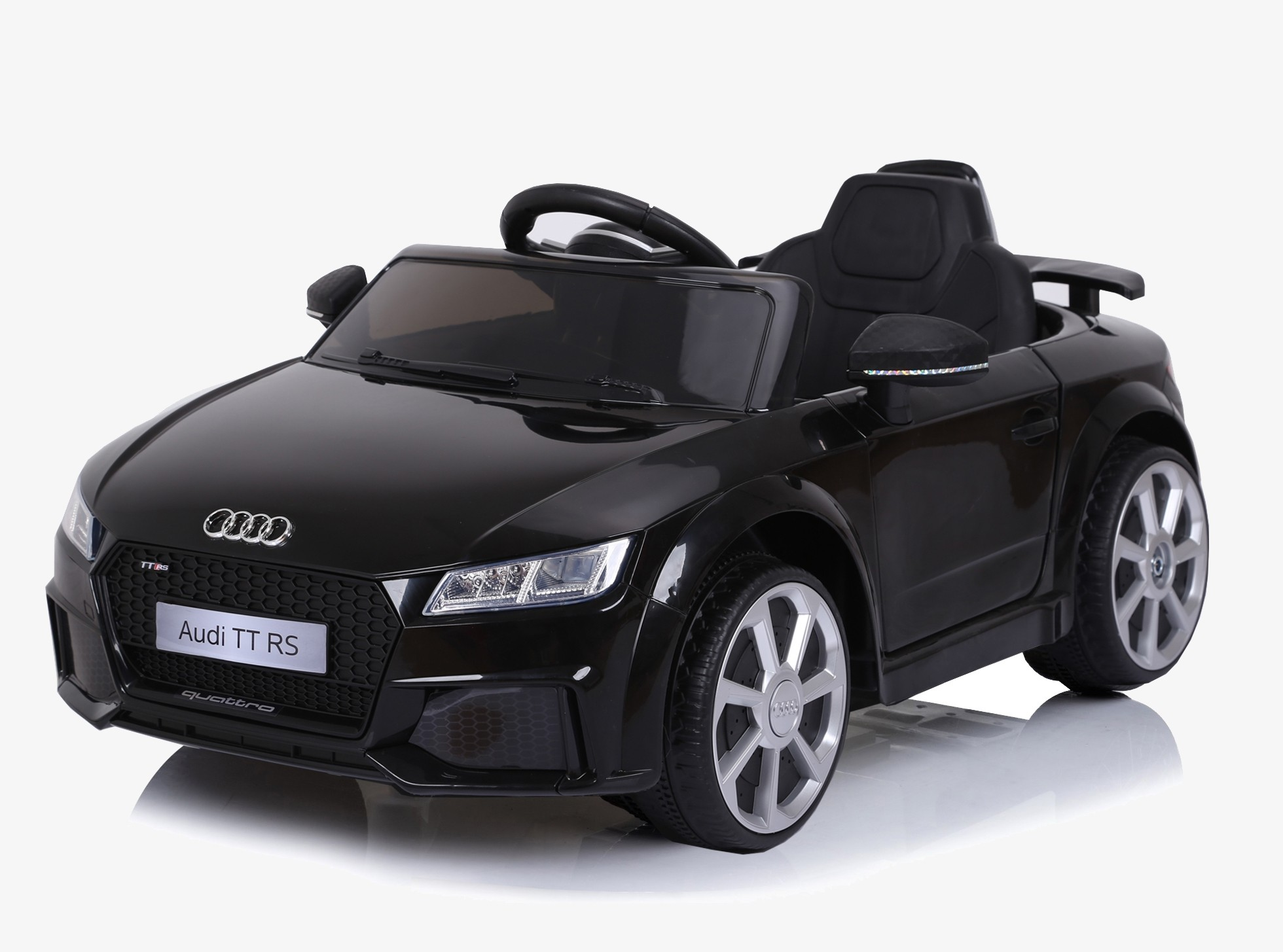 Xtreme 12v Official Licensed Audi TT RS Ride on Car in Black
