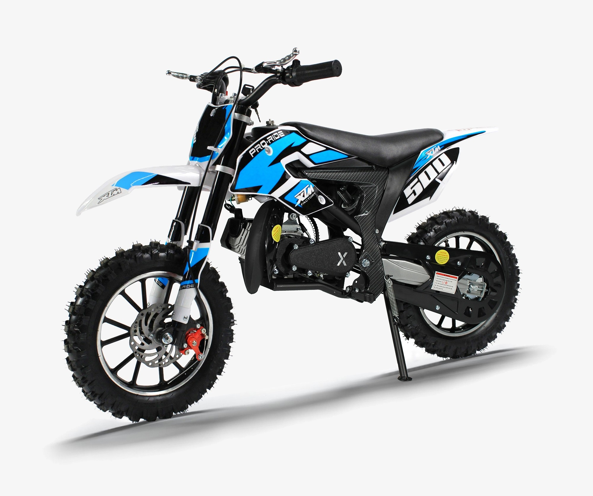 XTM PRO-RIDER 50cc DIRT BIKE BLUE