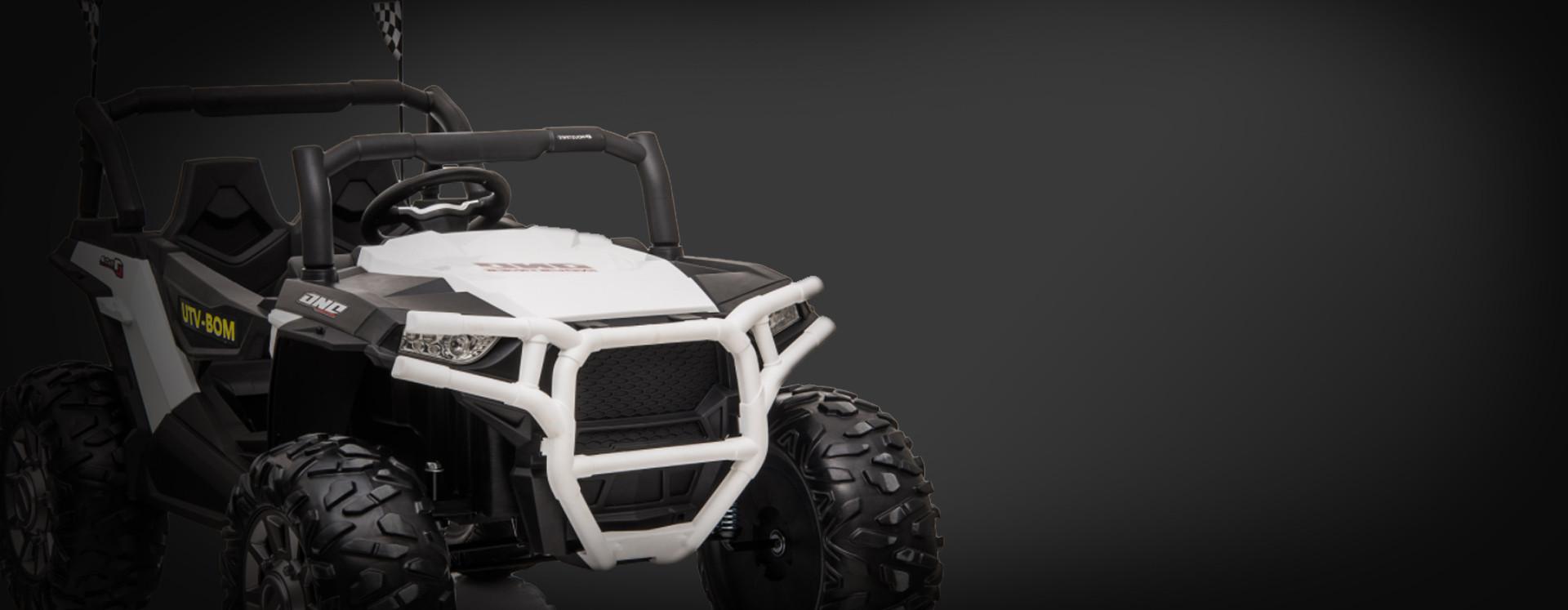 Xtreme BIG 24v Ride on Buggy Off Road UTV Jeep White