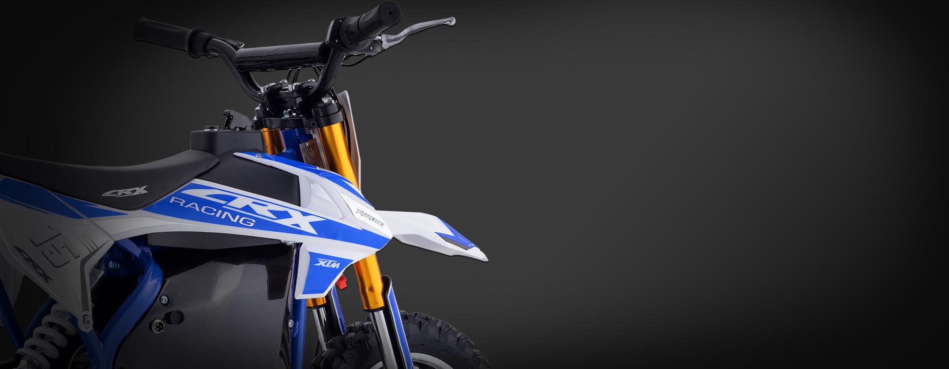 XTM CRX 36V 500W ELECTRIC DIRT BIKE BLUE