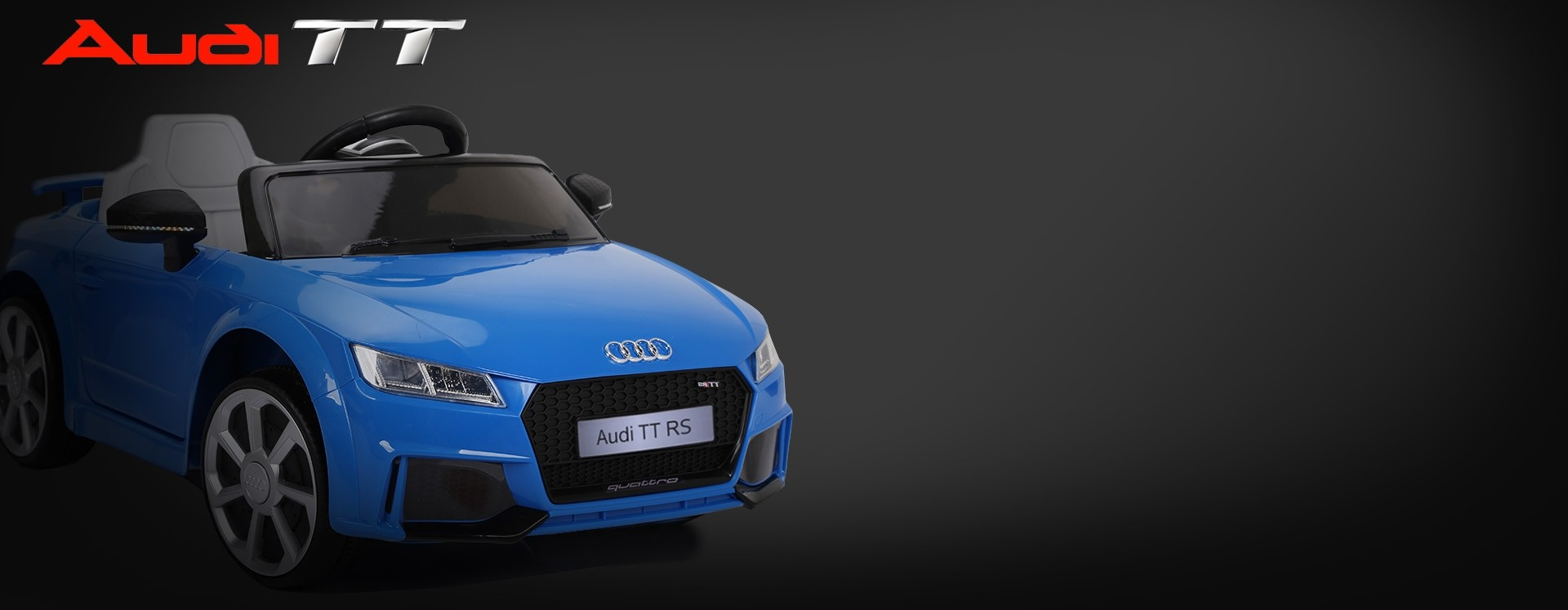 Xtreme 12v Official Licensed Audi TT RS Ride on Car in Blue