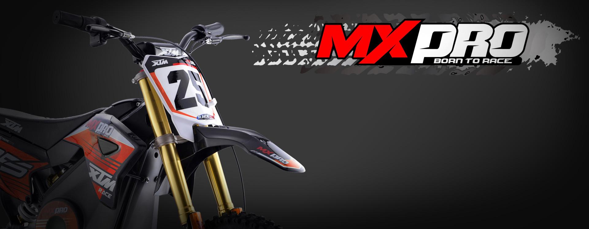 XTM MX-PRO 48V 1300W BIG WHEEL 14/12 LITHIUM DIRT BIKE ORANGE