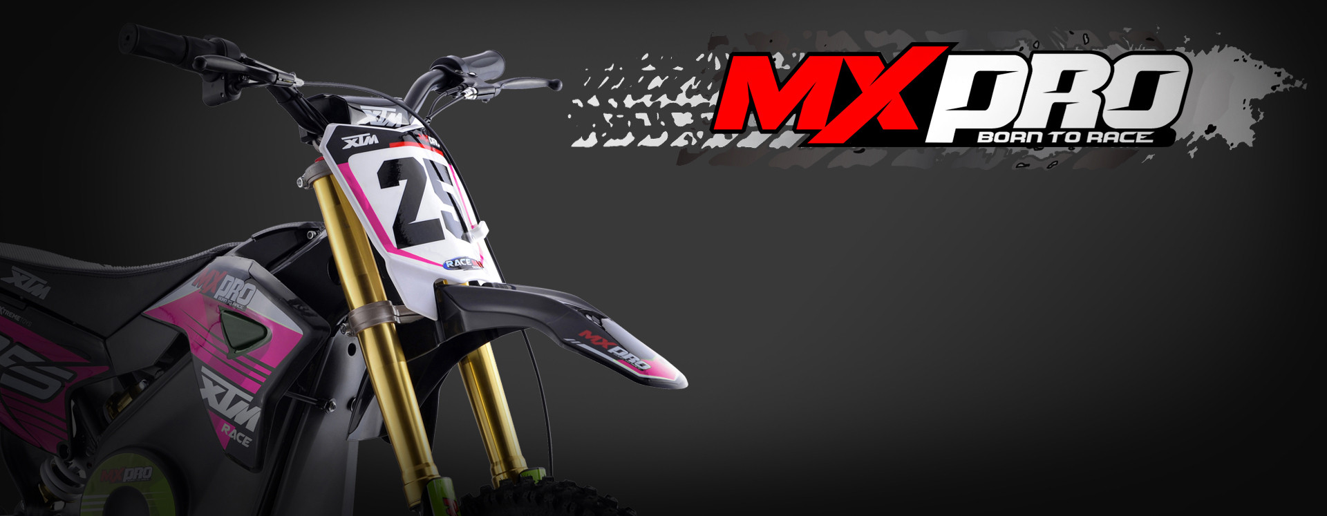 XTM MX-PRO 48V 1300W LITHIUM DIRT BIKE PINK