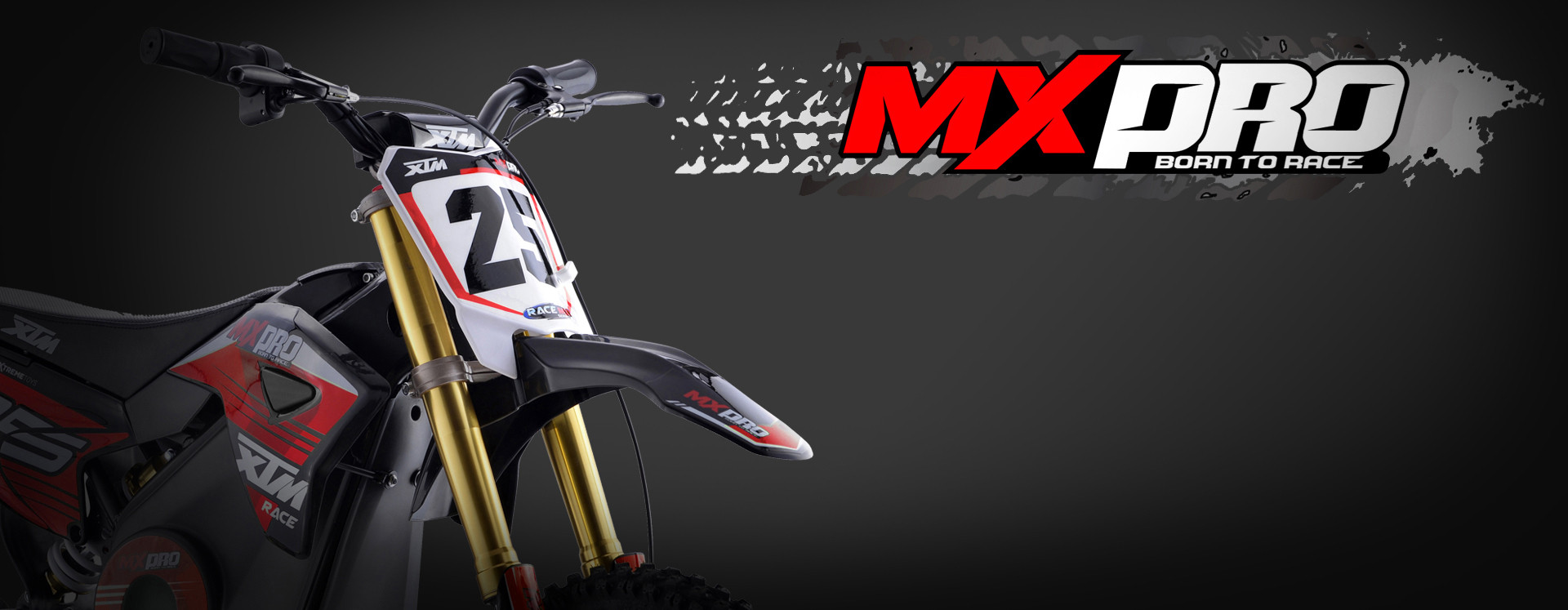 XTM MX-PRO 36V 1100W LITHIUM DIRT BIKE RED
