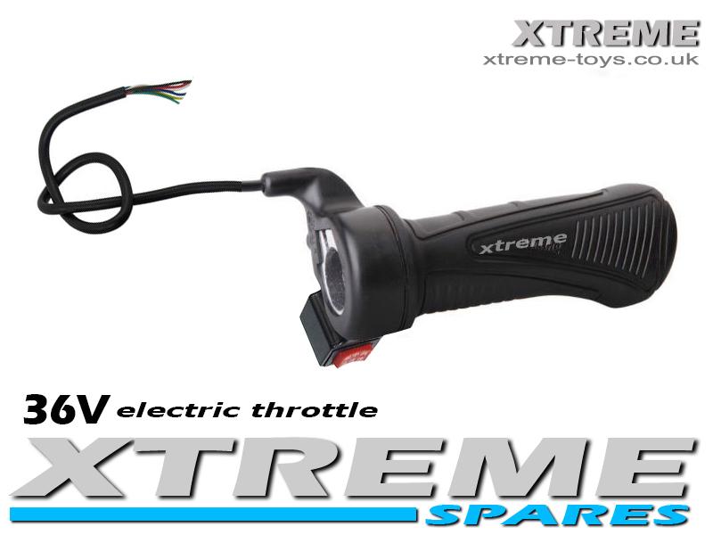 Electric Mini Quad Dirt Bike Twist Throttle 36v 500w