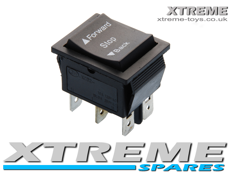 New 6v 12v Ride On Car Forward    Reverse Switch    Stop    Back - Ride On Car Parts