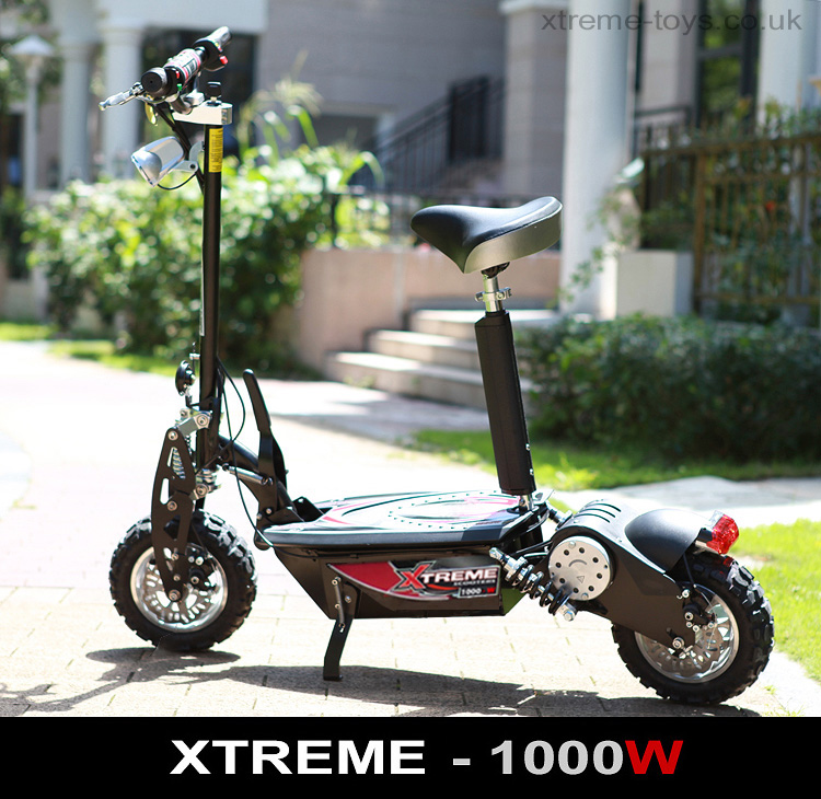 xtreme evo 1000w electric scooter 48v xtreme scooters. Black Bedroom Furniture Sets. Home Design Ideas