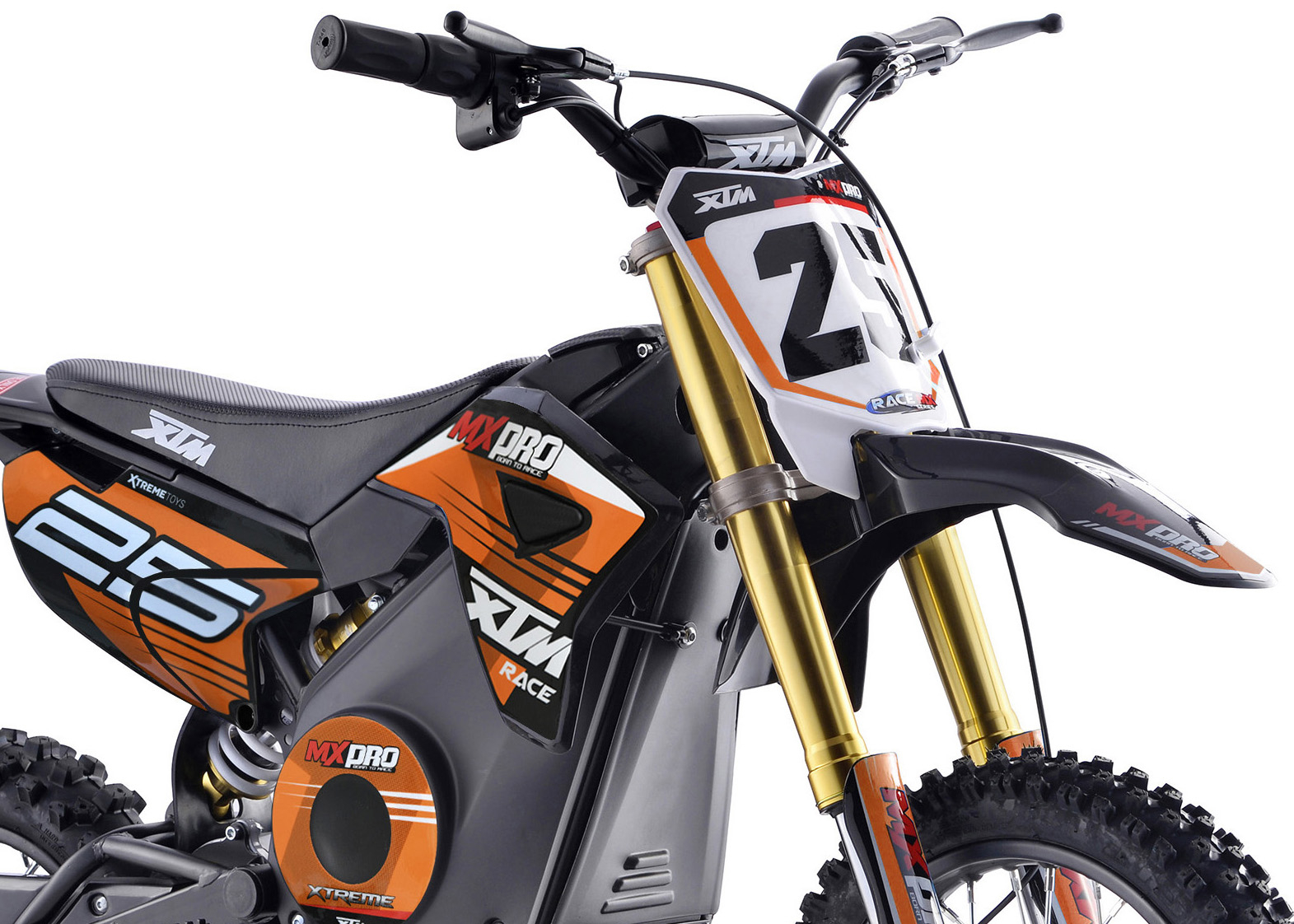 Front Hydraulic Inverted Forks
