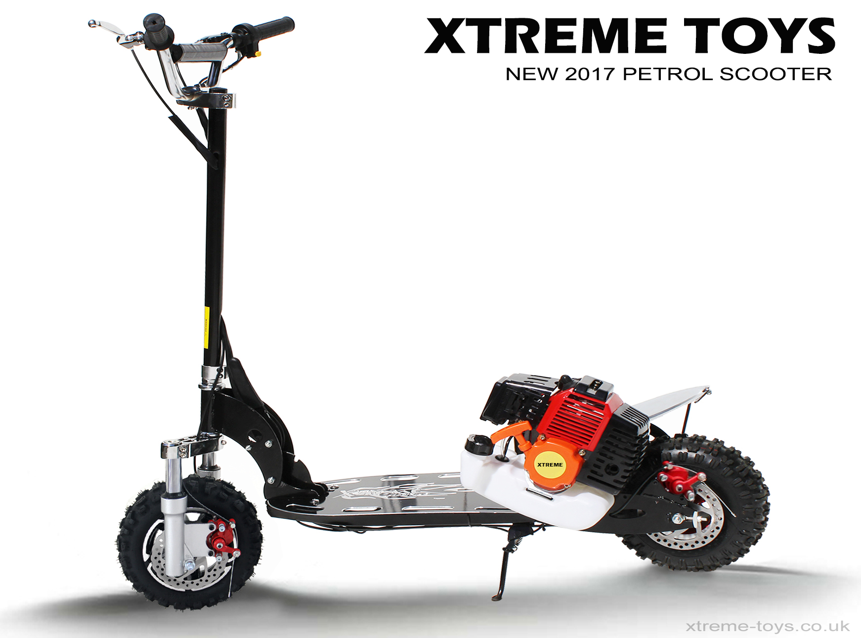 Xtreme Petrol Scooter 2017 Model Xtreme Toys