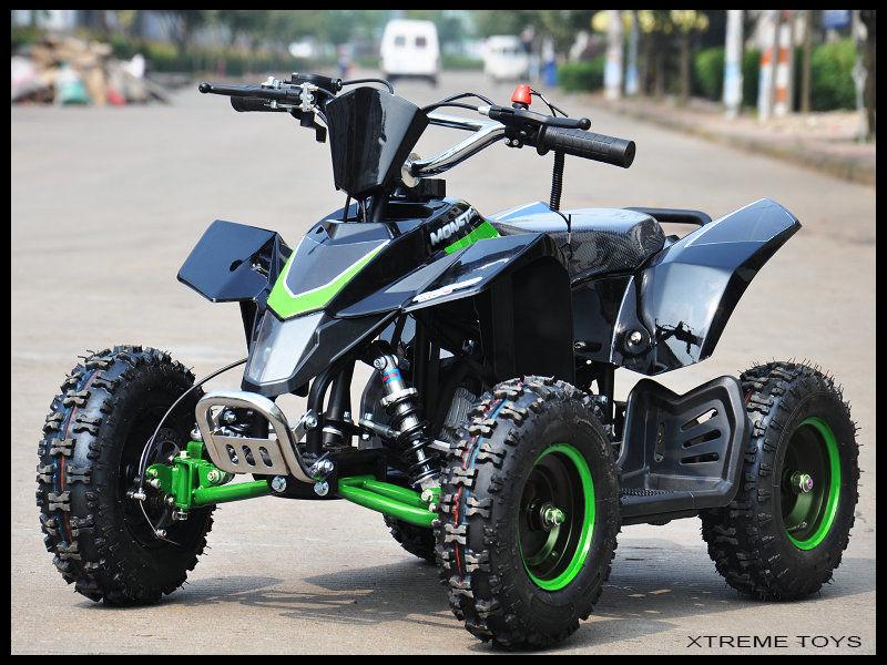 Mini Xtm Monster Quad Bike Full Main Body Plastics In